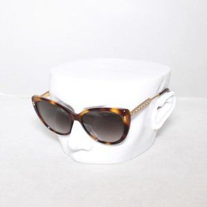 GUCCI Brown Cat Eye Tortoise Sunglasses #20810